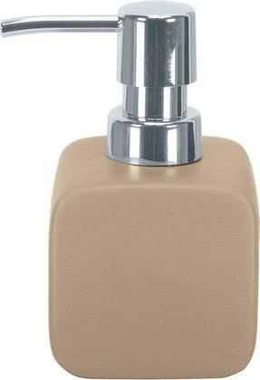 Ёмкость для жидкого мыла керамика, коричневый Kleine Wolke Cubic 5066271854