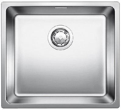 Кухонная мойка без крыла, с клапаном-автоматом, нержавеющая сталь полированная Blanco Andano 450-IF 519376