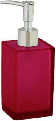 Ёмкость для жидкого мыла малиновая Spirella GALAXY 1002950