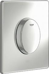 Кнопка смыва для инсталляции для унитаза, хром Grohe SKATE Air 38564000
