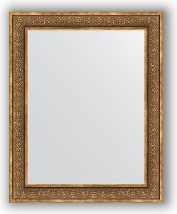 Зеркало в багетной раме 83x103см вензель бронзовый 101мм Evoform BY 3287