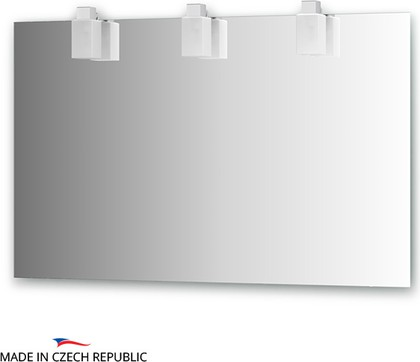 Зеркало со светильниками 120х75см Ellux RUB-A3 0215