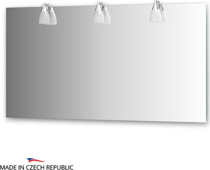 Зеркало со светильниками 140х75см Ellux ROM-A3 0217