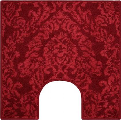 Коврик для туалета 55x55см красный Grund Tournai b3316-05007