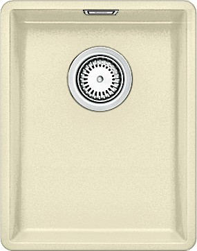 Кухонная мойка без крыла, с клапаном-автоматом, гранит, жасмин Blanco Subline 320-F 519794