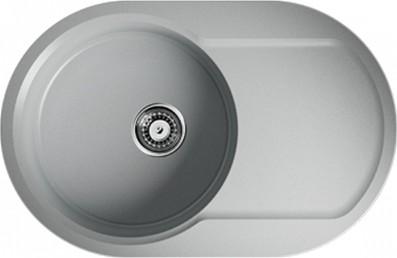 Кухонная мойка оборачиваемая с крылом, серый Omoikiri Manmaru 78-GR 499336