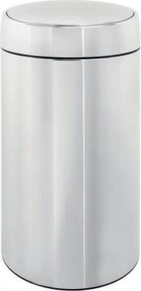 Мусорный бак 45л сталь полированная Brabantia SLIDE BIN 477607