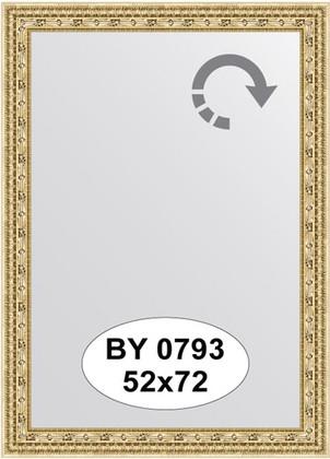 Зеркало 52x72см в багетной раме сусальное золото Evoform BY 0793