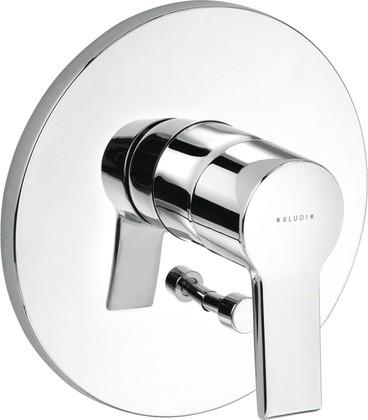Смеситель для ванны встраиваемый однорычажный без излива, хром Kludi O-CEAN 387500575