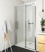 Душевая дверь Roltechnik Exclusive ECD2L, 120см, левая, прозрачное стекло, хром 564-120000L-00-02