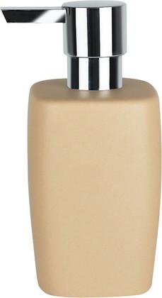Ёмкость для жидкого мыла керамическая бежевая Spirella Retro 1011805