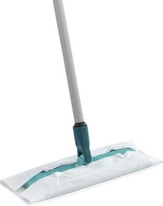Швабра-щётка с телескопической ручкой для сухой уборки, 26см Leifheit Clean & Away 56640