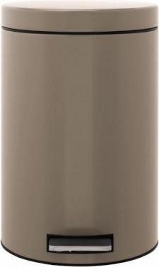 Ведро для мусора с педалью 12л серо-коричневое Brabantia 425042