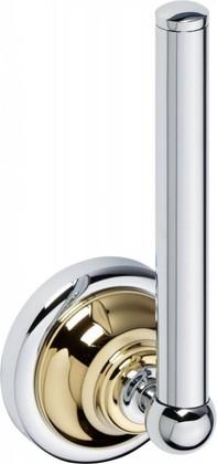 Держатель запасных рулонов туалетной бумаги Bemeta Retro, золото-хром 144212038