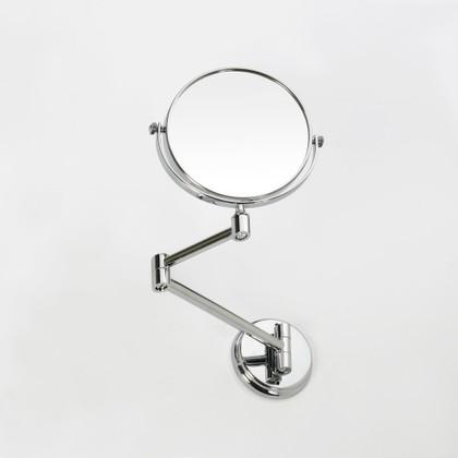 Зеркало косметическое настенное, диаметр 135мм, Bemeta 106301122f