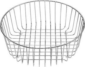 Корзина для посуды нержавеющая сталь Ø362х141мм Blanco 220574