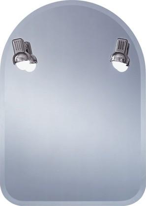 Зеркало 50x70см с фацетом и с 2-мя оригинальными лампами с плафонами цвета хром Dubiel Vitrum KROKUS C 5905241015200