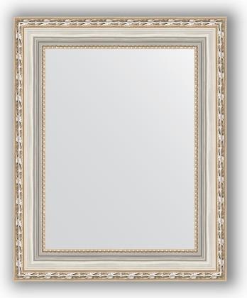 Зеркало в багетной раме 42x52см версаль серебро 64мм Evoform BY 3014