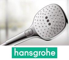 Включите удовольствие одним нажатием! Hansgrohe Raindance Select