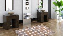 Коврик для ванной 50x60см бежевый Grund Agarti 3618.60.151
