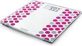 Весы напольные Soehnle Style Sense Compact 300, электронные, 180кг/100гр, розовый 63846