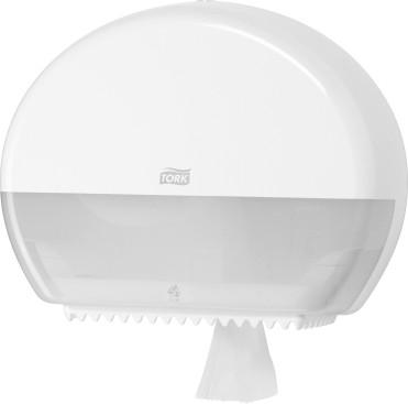 Диспенсер Tork Elevation для туалетной бумаги, мини-рулоны, белый 555000