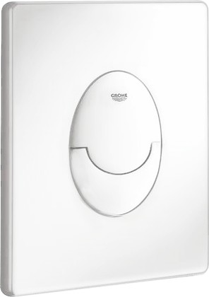 Кнопка смыва для инсталляции для унитаза, белая Grohe SKATE Air 38505SH0