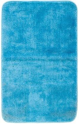 Коврик для ванной комнаты полиэстер 50x80см синий Spirella Rosario 4007253