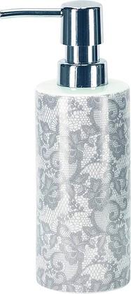 Ёмкость для жидкого мыла Kleine Wolke Spitze, фарфор, серый 5848146854