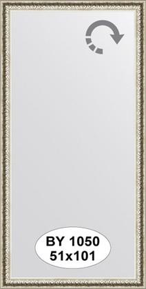 Зеркало 51x101см в багетной раме мельхиор Evoform BY 1050