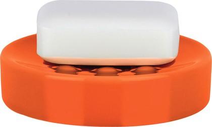 Мыльница керамическая оранжевая Spirella Tube 1016082
