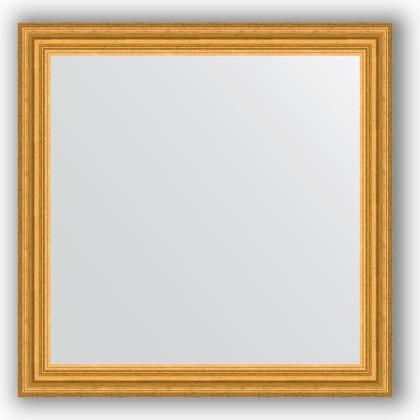 Зеркало 76x76см в багетной раме 67мм старое золото Evoform BY 1031