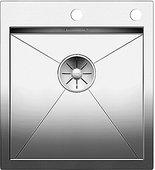 Кухонная мойка Blanco Zerox 400-IF/A, клапан-автомат, полированная сталь 521629