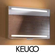 Зеркальные шкафы Keuco с элегантной подсветкой