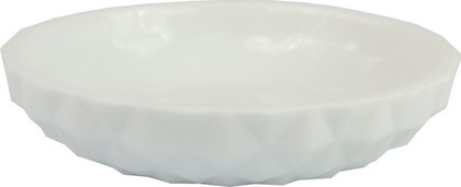 Мыльница керамическая белая Spirella Alison 4007343