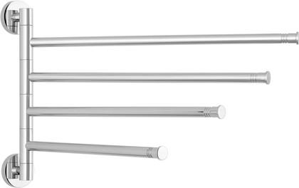 Держатель для полотенец Сунержа Каньон Веер-4, поворотный, L425, полированная сталь 00-3010-4425