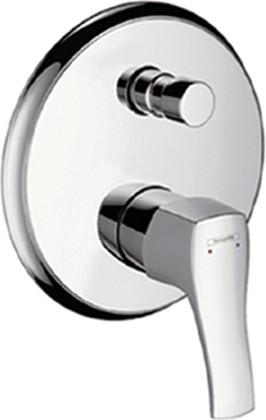 Наружная часть смесителя для ванны, с переключателем (к ibox universal), хром Hansgrohe Metris Classic 31485000