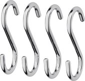 Крючки для полотенец FBS Universal, малые, 4шт., хром UNI 004