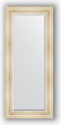 Зеркало с фацетом в багетной раме 64x149см травленое серебро 99мм Evoform BY 3549