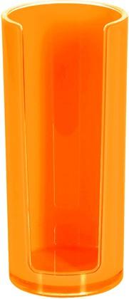 Подставка для ватных дисков оранжевая Spirella SYDNEY Acrylic 1017766