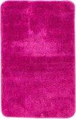 Коврик для ванной комнаты полиэстер 50x80см темно-розовый Spirella Rosario 4007254