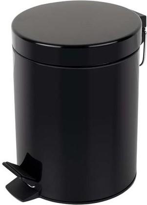 Ведро для мусора Spirella Sydney, 5л, чёрный 1016394