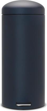 Ведро для мусора 30л с педалью, MotionControl, минерально-синий Brabantia Retro 482540