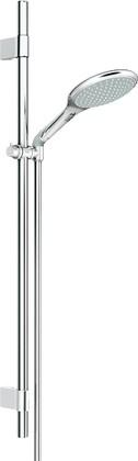 Душевой гарнитур, 2 вида струи, хром Grohe RAINSHOWER Solo 27273001