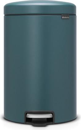 Мусорный бак с педалью 20л, минерально-лазурный Brabantia Newicon 115929