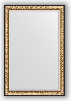 Зеркало 120x180см с фацетом 30мм в багетной раме барокко золото Evoform BY 1321