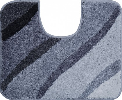 Коврик для туалета 50x60см серый Grund Duna b2602-006001001