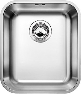 Кухонная мойка без крыла, нержавеющая сталь полированная Blanco SUPRA 340-U 518199