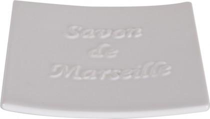 Мыльница фарфоровая белая Spirella Savon De Marseille 4006079