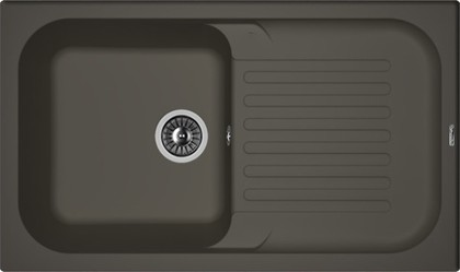 Кухонная мойка Florentina Арона, 860x510мм, антрацит 20.225.D0860.302